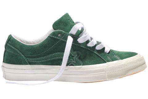 Shoe, Footwear, Sneakers, Green, White, Skate shoe, Product, Walking shoe, Outdoor shoe, Athletic shoe,