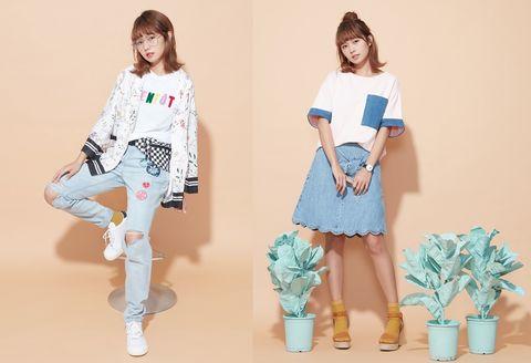 Clothing, White, Blue, Shoulder, Waist, Fashion, Joint, Leg, Knee, Sleeve,