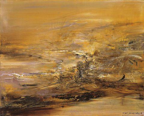 趙無極,《2131964》,1964。
