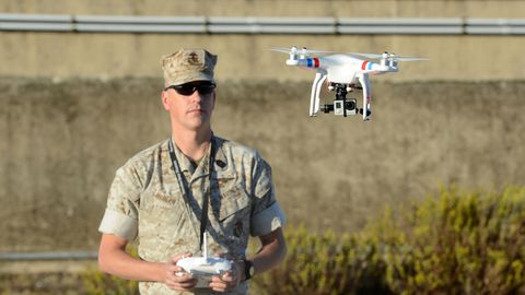 Drone, Army, Vehicle, Radio-controlled toy, Military, Soldier, Radio-controlled aircraft, Model aircraft,