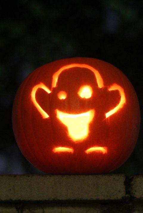 Jack-o'-lantern, trick-or-treat, Orange, Calabaza, Carving, Pumpkin, Light, Lighting, Vegetable, Fruit,