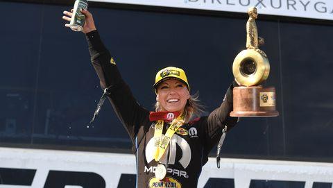 Leah Pruett, Don Schumacher Racing