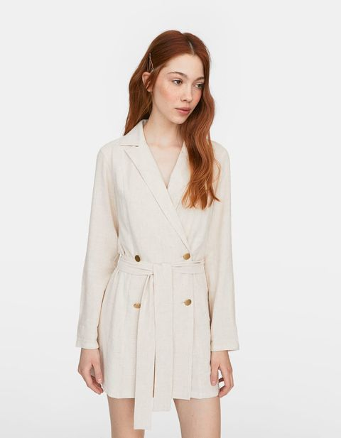 Clothing, White, Outerwear, Blazer, Sleeve, Jacket, Neck, Coat, Top, Shoulder,
