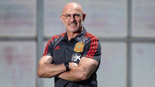 luis de la fuente, seleccionador español de fútbol en los juegos olímpicos
