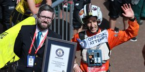 guinness world records attempts london marathon
