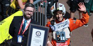 guinness world records attempts london marathon