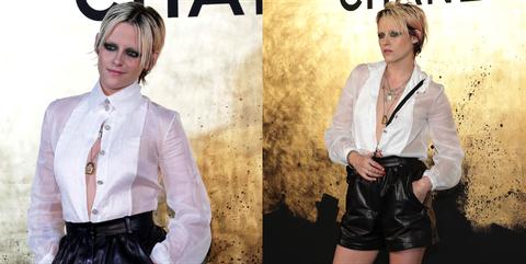 克莉絲汀史都華(Kristen Stewart)看香奈爾2020早春