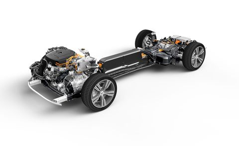 volvo s60 plug in hybrid chassis