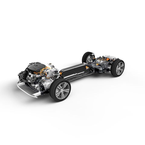 Volvo S60 Plug-In Hybrid Chassis