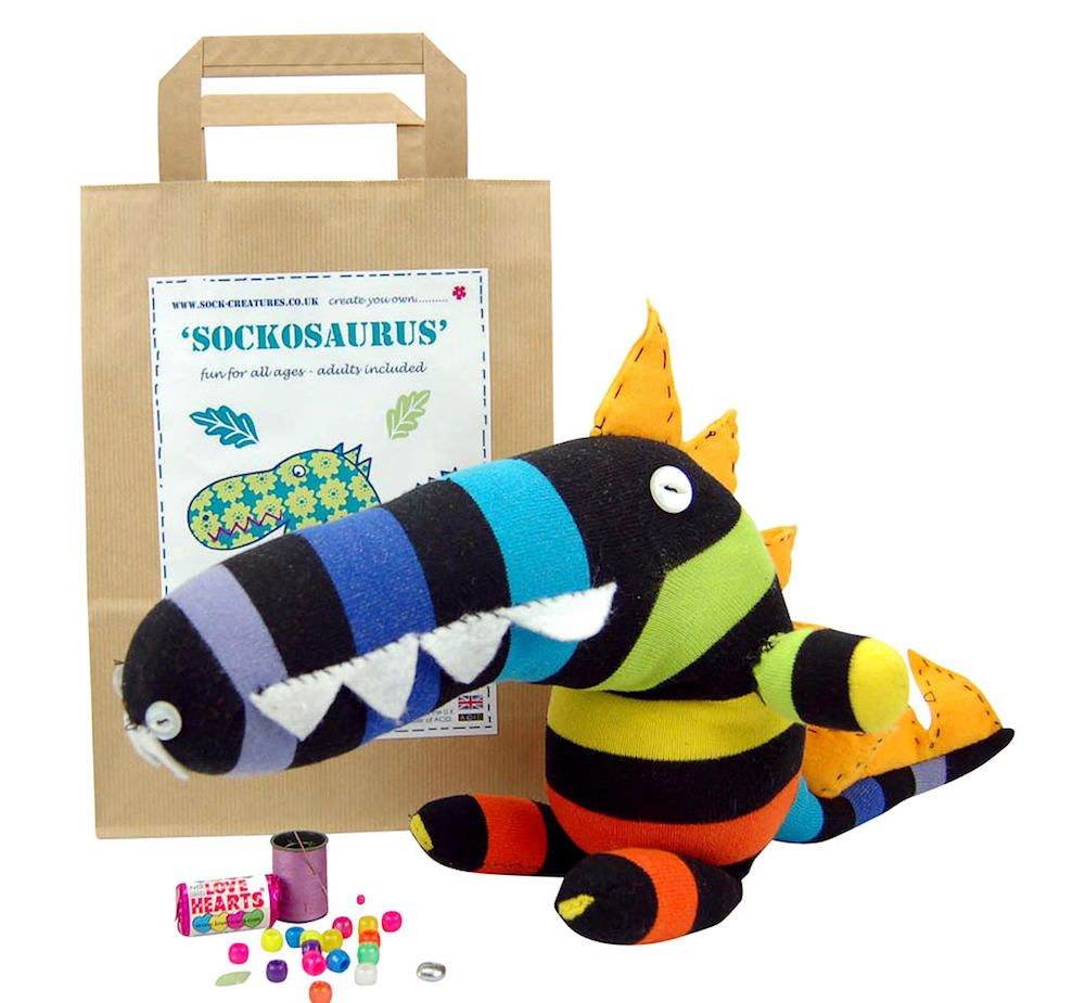 Sock Creatures Sockosaurus Dinosaur Kit