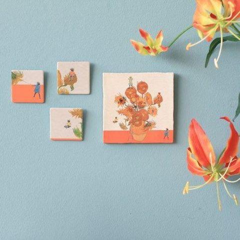 Leaf, Orange, Botany, Paper, Plant, Flower, Room, Petal, Paper product, Wildflower,
