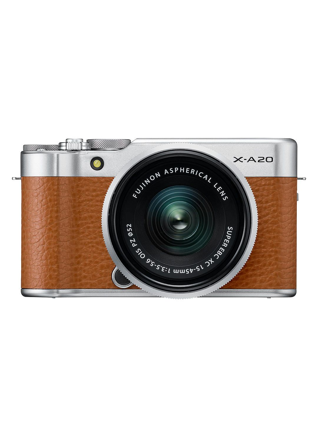"Fujifilm X-A20 Compact System Camera with XC 15-45mm OIS Lens, HD 1080p, 16.3MP, Wi-Fi, 3"" Tiltable LCD Touch Screen black friday"