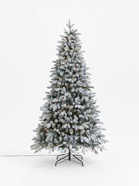 Artificial fake Christmas tree