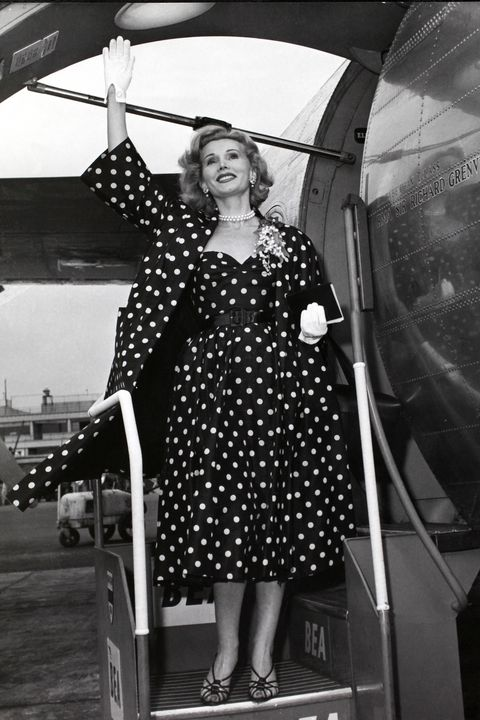 The Best Celebrity Airport Style From the 1950s