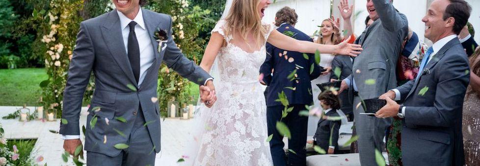Gwyneth Paltrow Wedding Dress And Brad Falchuk S