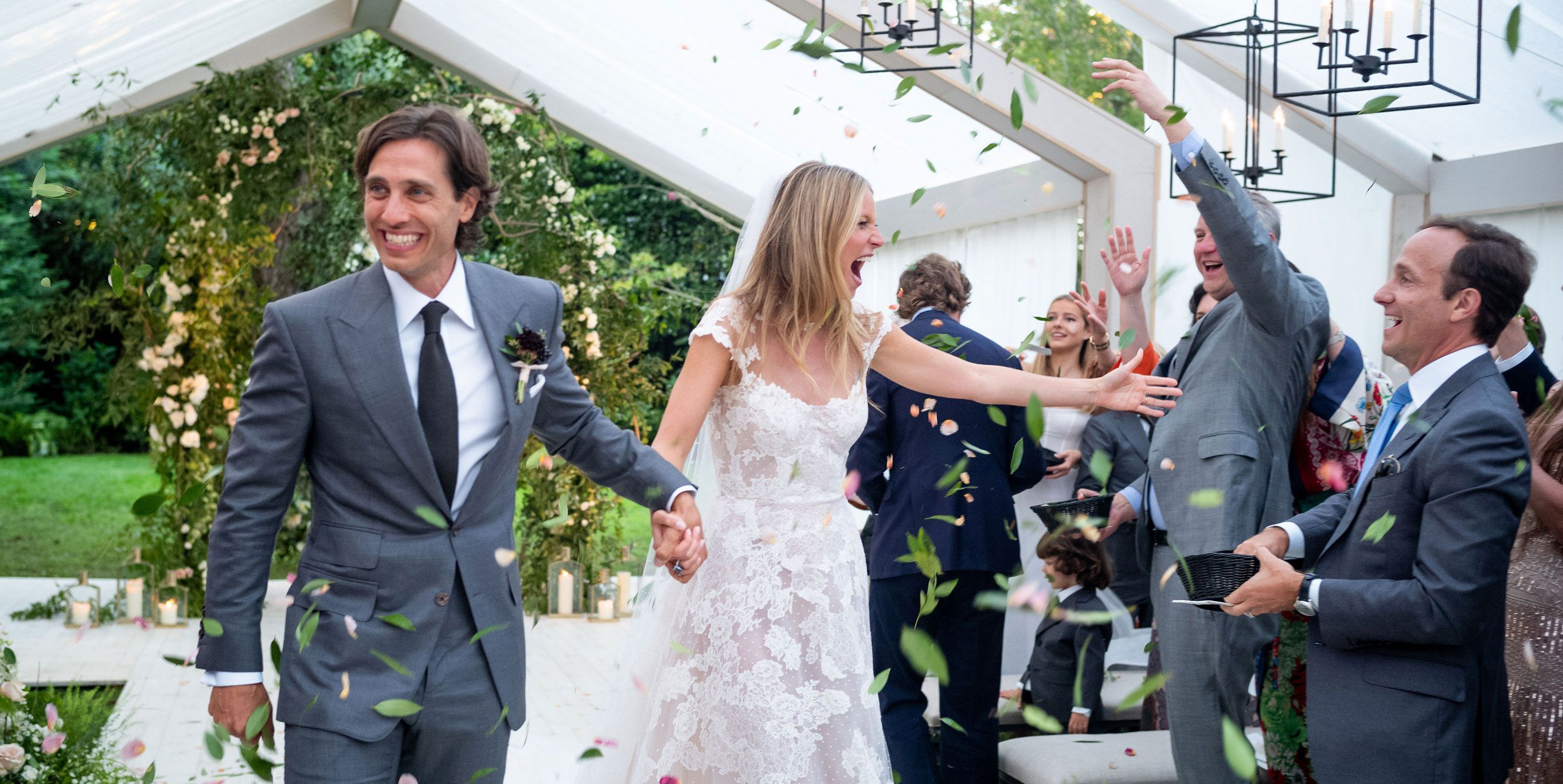 Gwyenth Paltrow Brad Falchuk Wedding