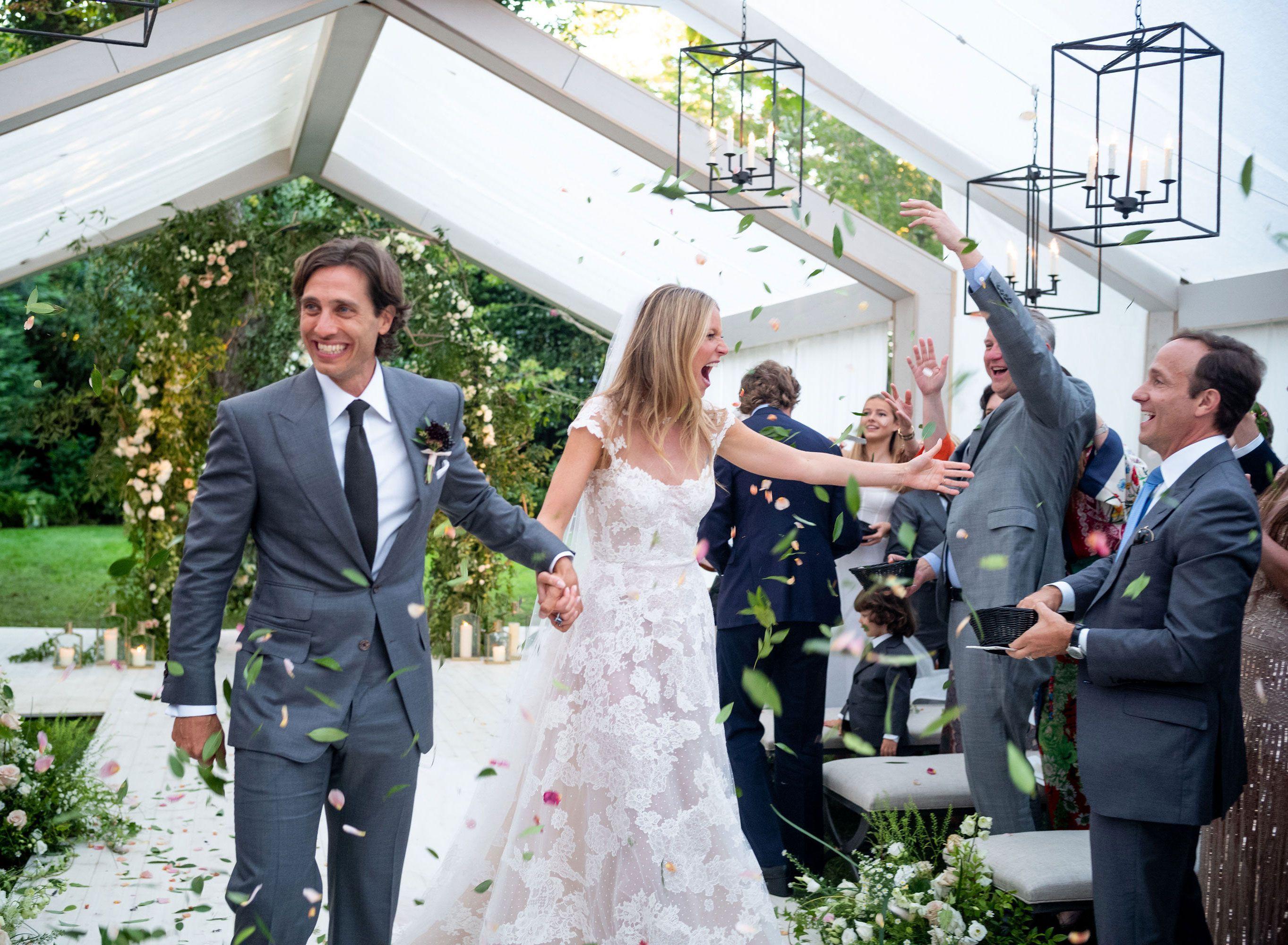 gwyneth paltrow brad falchuk wedding