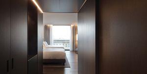 Hilton hotel lago di Como - stanze conarredi Poliform