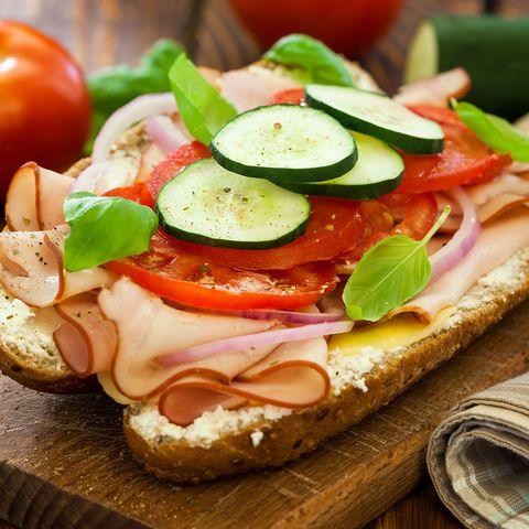 sandwich à la dinde