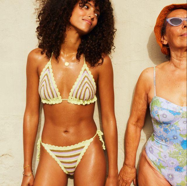 modelo de bañadores de mango