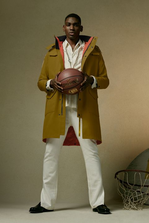 the convertiblelength portage jacket in gold