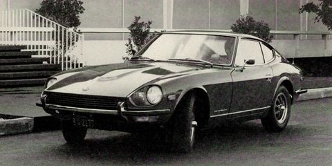 first drive datsun 240z