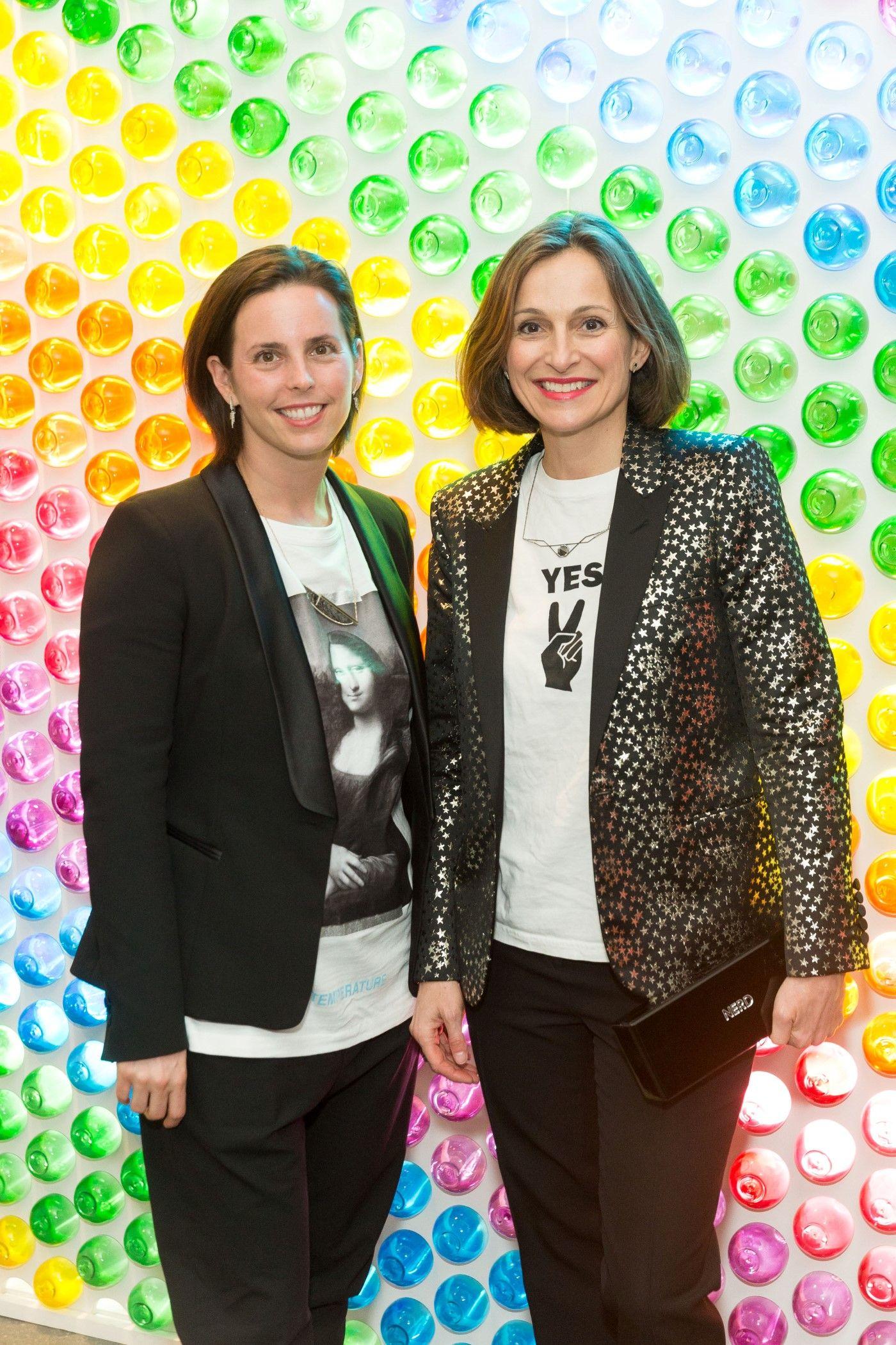 Jessica Silverman and Sarah Thornton