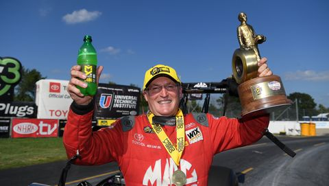 Doug Kalitta NHRA Top Fuel driver