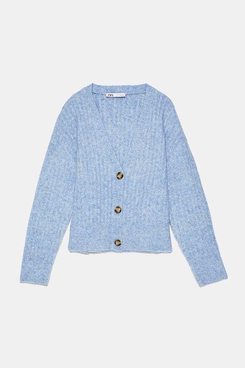 Clothing, Outerwear, Blue, White, Sleeve, Jacket, Cardigan, Sweater, Denim, Top,
