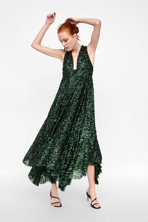 imágenes oficiales precio bajo profesional Vestidos de fiesta de Zara con lentejuelas - El vestido de ...
