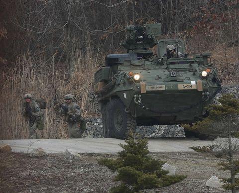 'Patriot' Soldiers conduct platoon exercises in Korea
