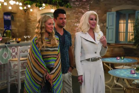 Dominic Cooper And Amanda Seyfried Mamma Mia