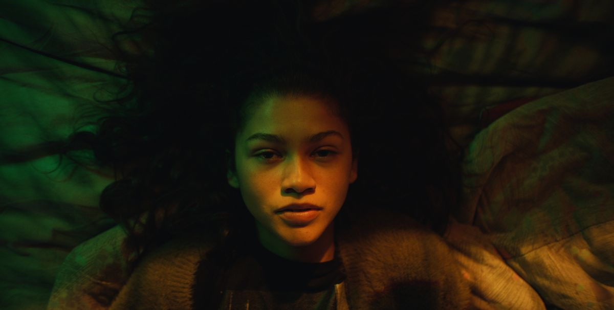 Zendayas First Euphoria Episode On Hbo Was An Absolutely Wild Ride-1829