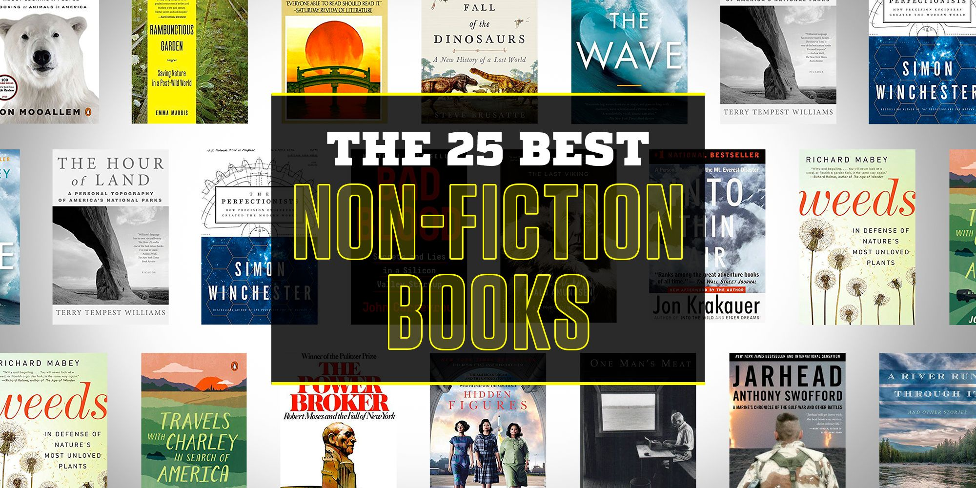 Best Non Fiction Books Non Fiction Best Sellers 2018