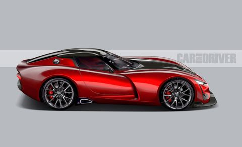2021 Dodge Viper A Motown Legend Is Reborn