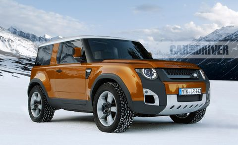 2020 Land Rover Defender: News, Design, Release, Price >> 2020 Land Rover Defender Mixing Tradition With Modernity
