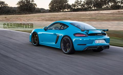 2019 Porsche 718 Cayman Gt4 The 911 Gt3 S Little Brother Is Back
