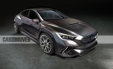2020 Subaru Wrx This Could Be Its Most Important Redesign Yet