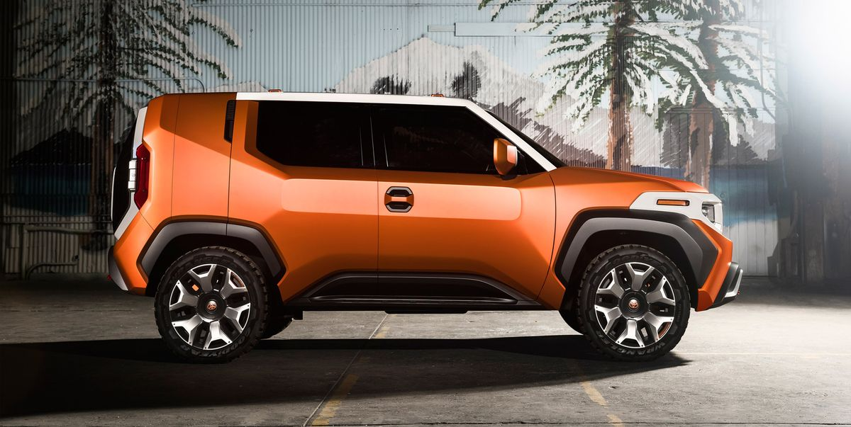 Used Buick Suv >> 2020 Toyota FT-4X: A Funky, Cool, Boxy SUV | 25 Cars Worth Waiting For | Car and Driver