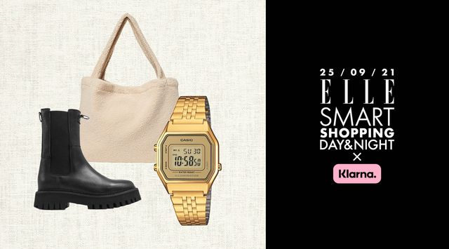 elle smart shopping day and night little green bag