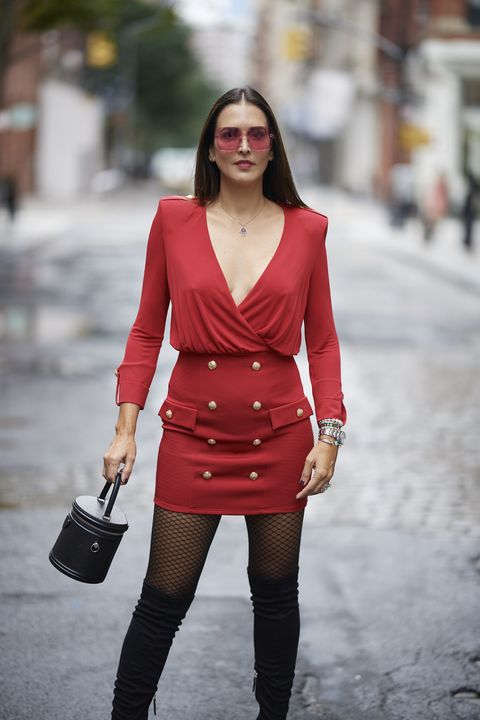 Clothing, Street fashion, White, Red, Fashion, Shoulder, Orange, Maroon, Snapshot, Yellow,