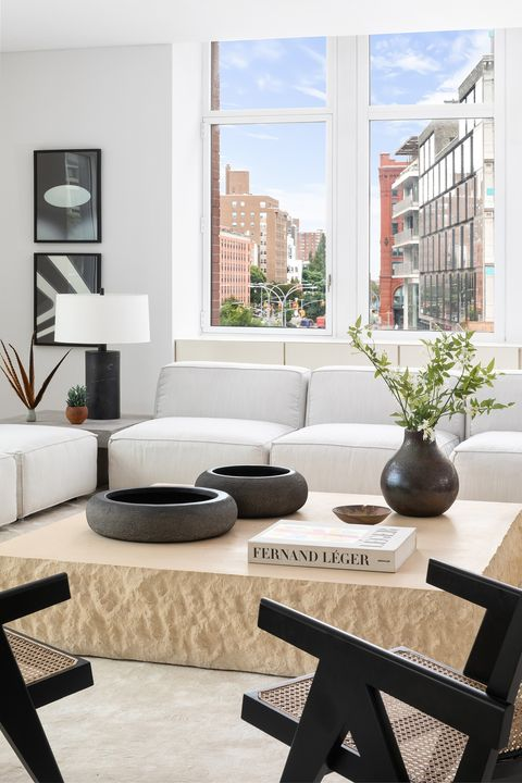 Living room, Furniture, Room, Interior design, Coffee table, Property, Table, Building, Couch, Home,