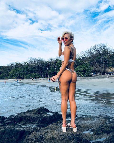 Bikini, Clothing, Water, Beauty, Blond, Summer, Swimwear, Leg, Vacation, Model,