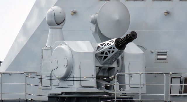 type 1130 close in weapons ciws of the wuhu 539