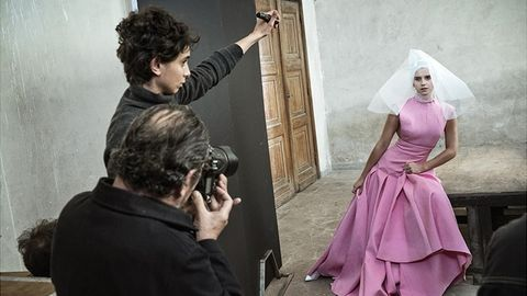 Fashion, Dress, Pink, Costume design, Photography, Gown, Haute couture,