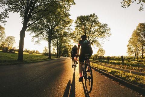komoot route builder app fietsers natuur