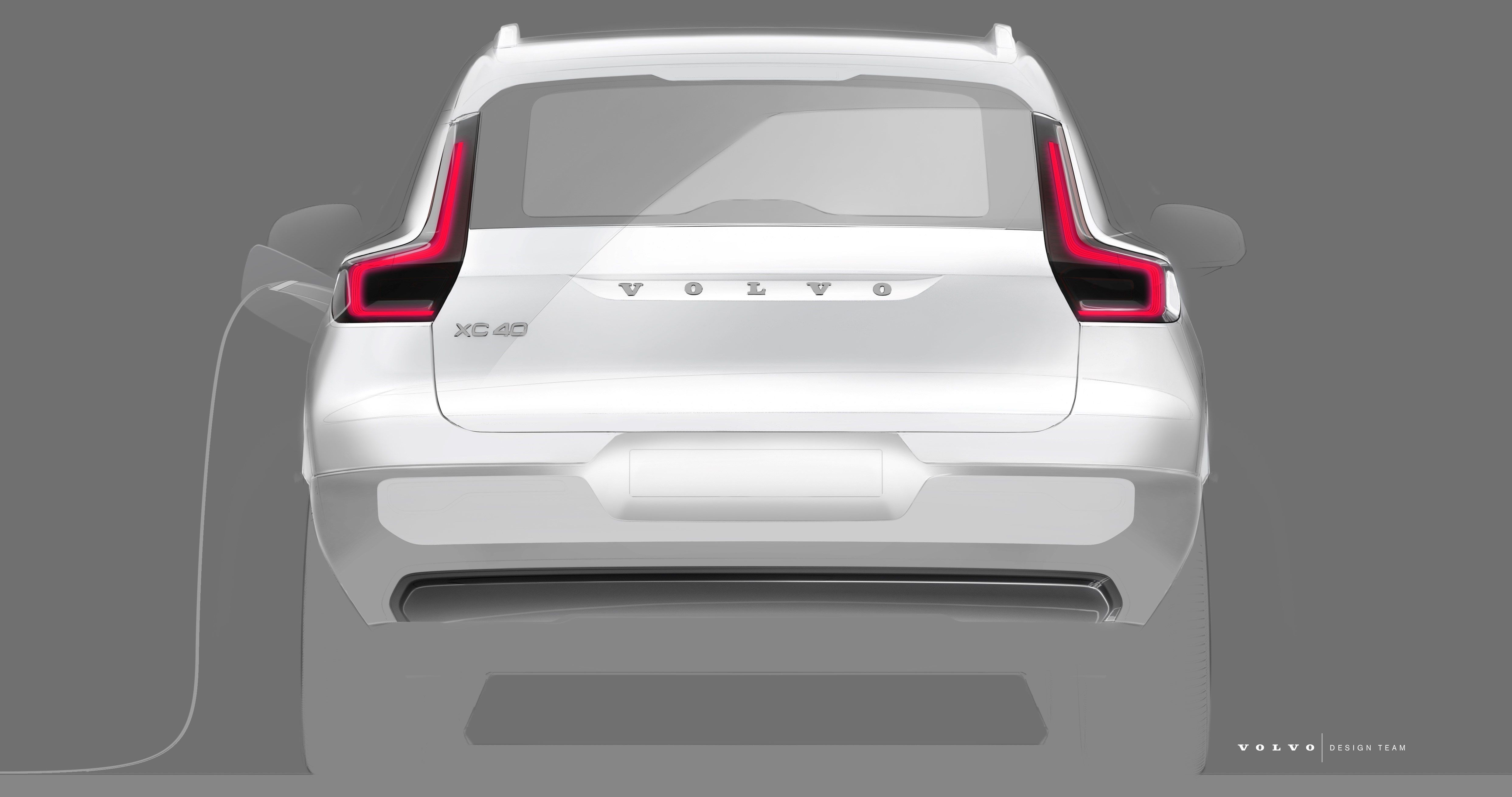 Volvo Shows More Of Its First Electric Vehicle A Two Motor Xc40 Suv