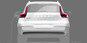 Volvo XC40 electric