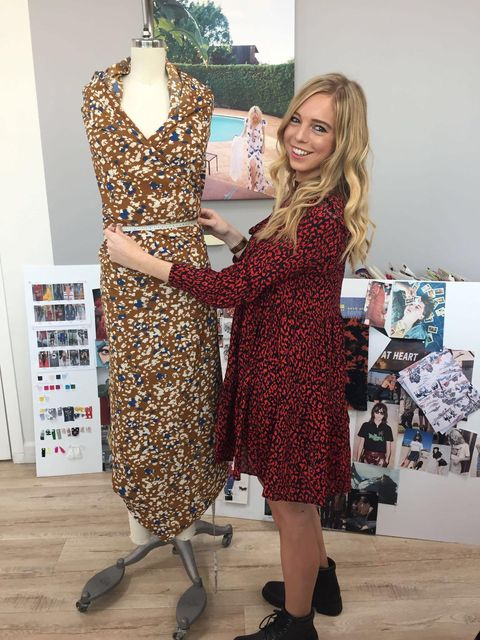 A Day In The Life Of A High Street Fashion Designer La Based Emma Golley Designs For The High Street