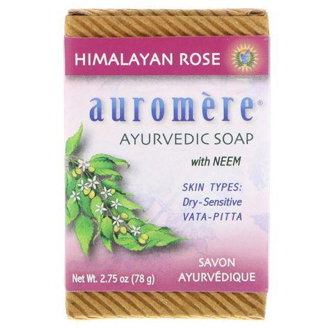 「auromere」アーユルヴェーダソープ ヒマラヤローズ